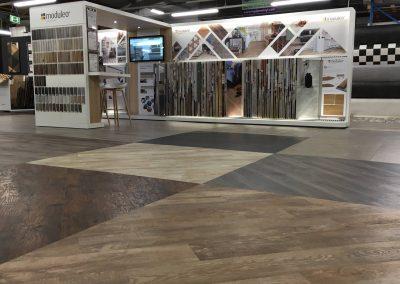 PVC vloeren showroom
