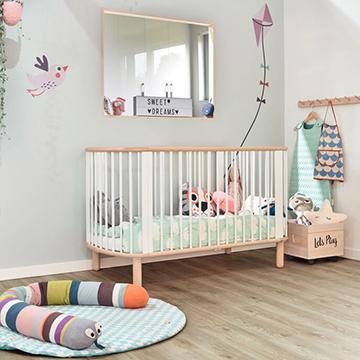 Kinderkamer met PVC vloer, Moduleo Sierra Oak