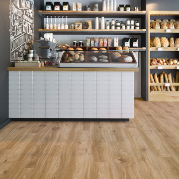 Moduleo Sierra Oak. Perfecte PVC-vloer voor in de keuken